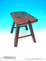 Antique Welsh Ash Four Legged Country Stool . Welsh. C1780-C1800 - picture 2