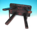 Antique Welsh Ash Four Legged Country Stool . Welsh. C1780-C1800 - picture 4
