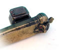 Antique 18thc Brass Quill Holder & Ink Well. English C1760 - 80 - picture 2