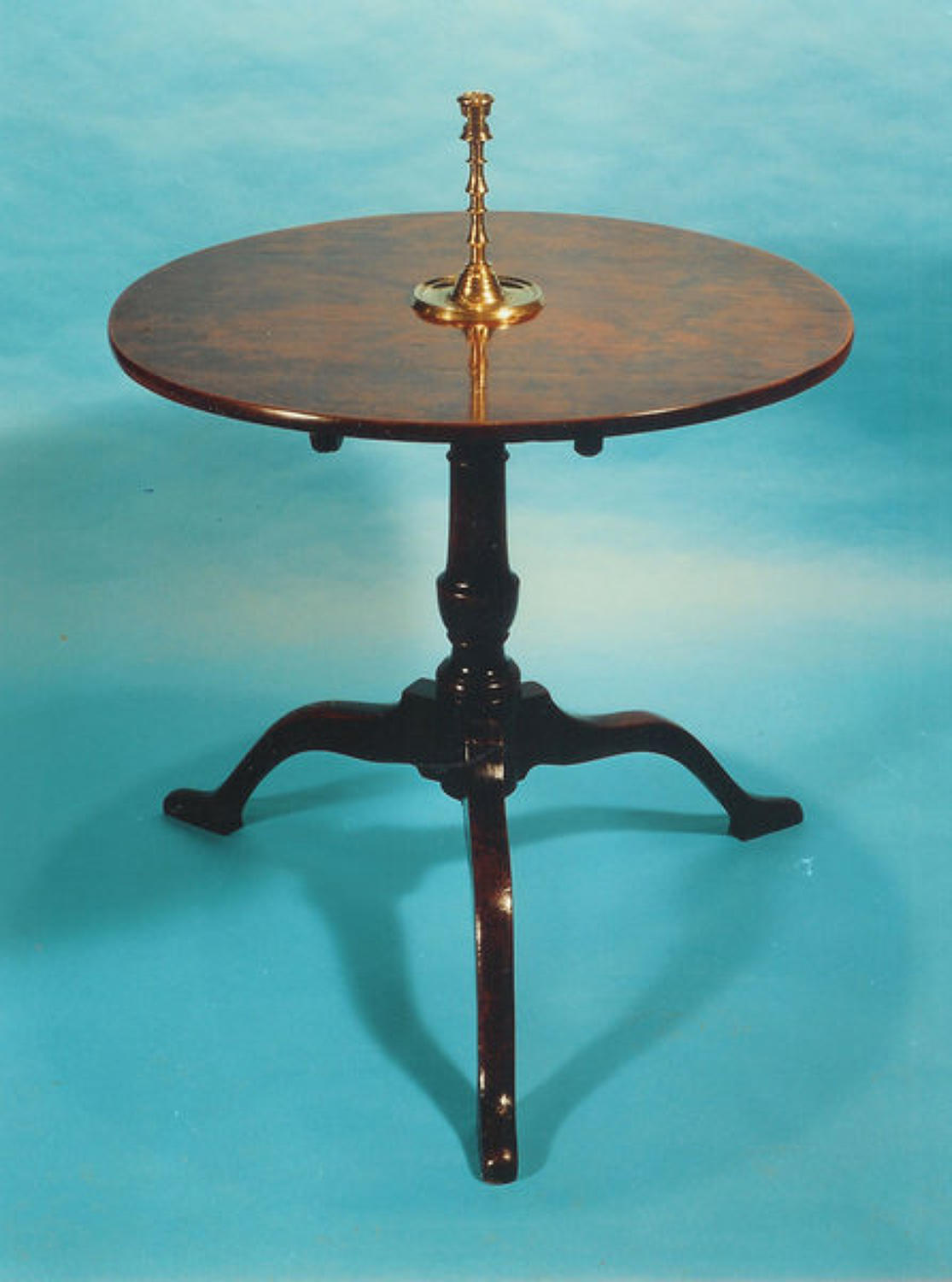 18thc Yew Tripod Table. English  C1760 - 70