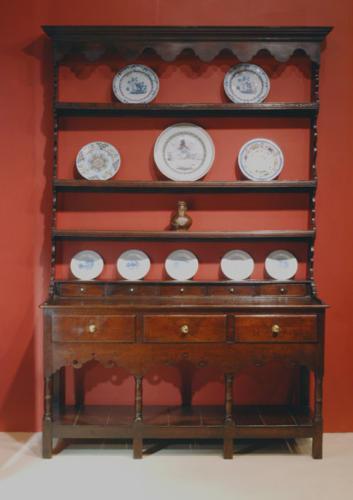 18thc Oak Potboard Dresser. Mid Welsh  C1790 - C1800