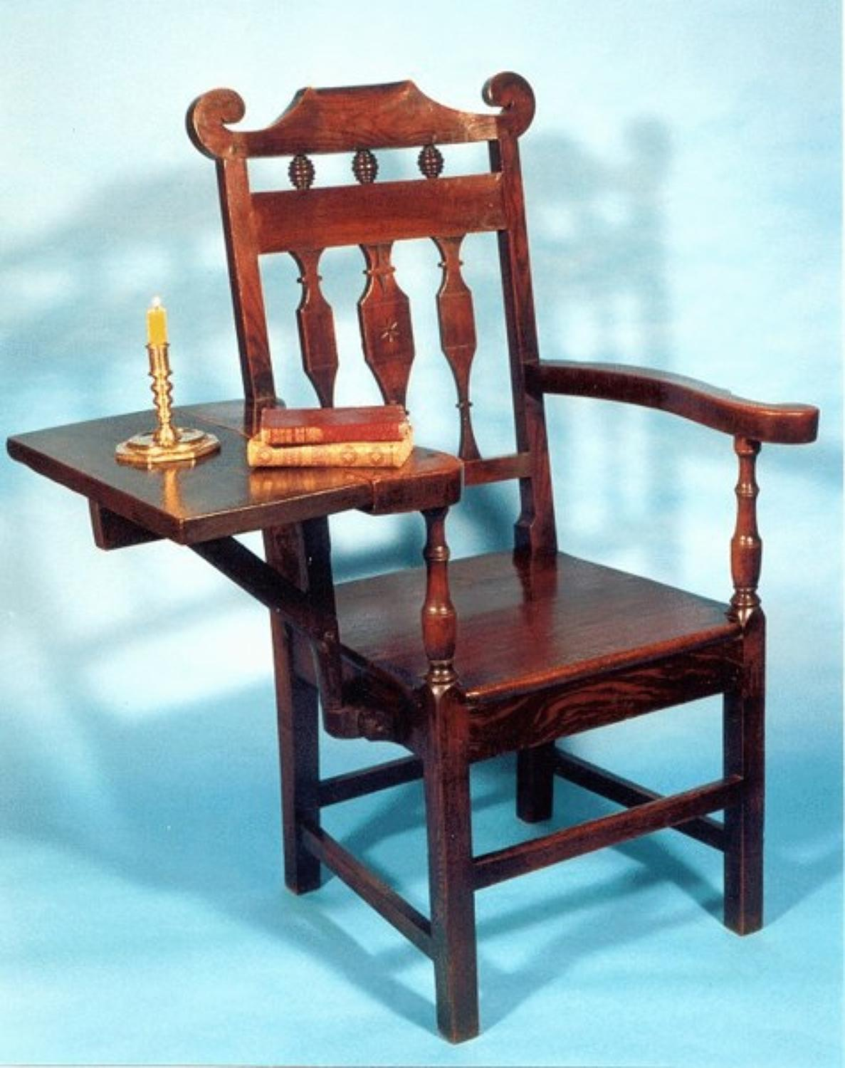 18thc Scottish Bible Chair. Scottish  C1780 - 90