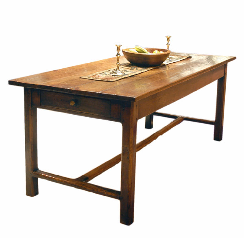 A very good 18thc Oak Farmhouse Table. French C1770 - 90