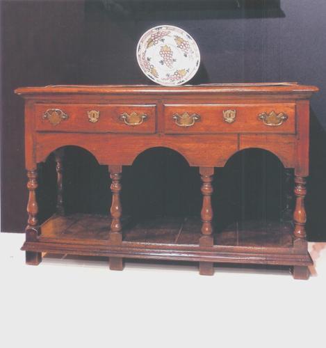 18thc Oak Potboard Dresser. Welsh C1750 - 60