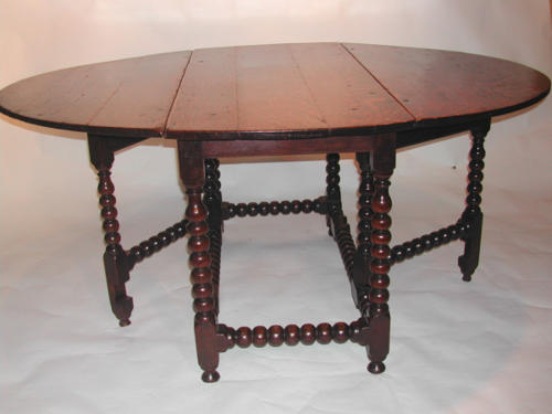 A very good 17thc Oak Gateleg Table. English C1660 - 80