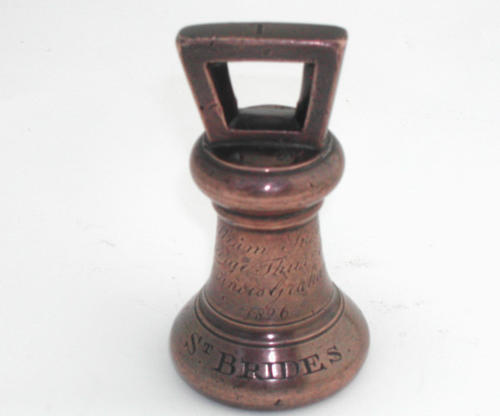 A Bronze Weight English C1826