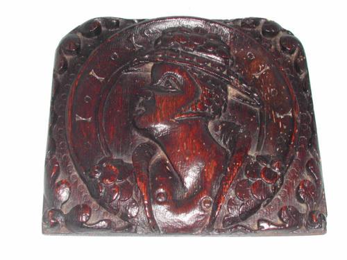 16thc Romayne Oak carved Panel. English C1570 - 80