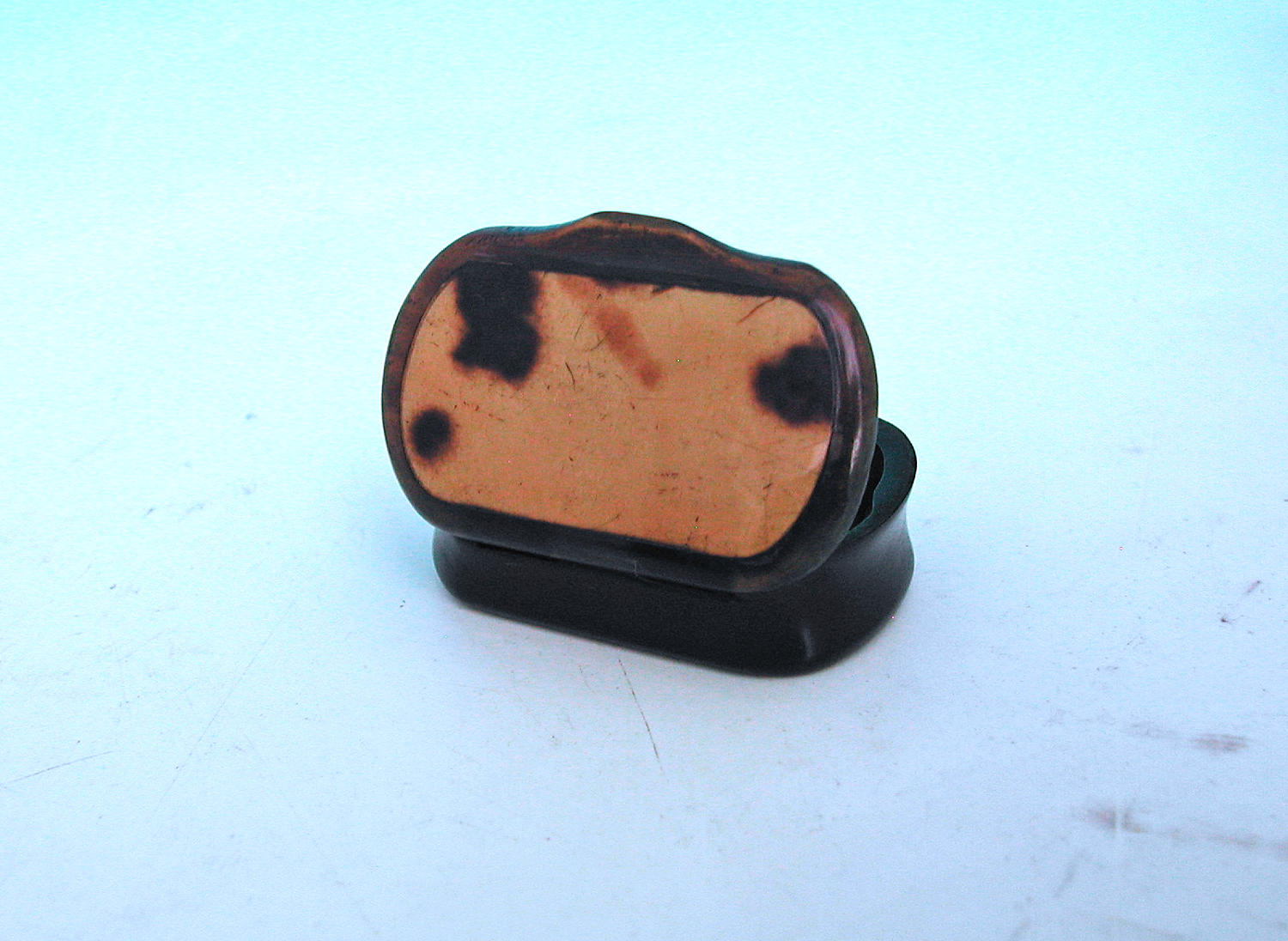 19thc Tortoishell Snuff Box .   Scottish C1860-80