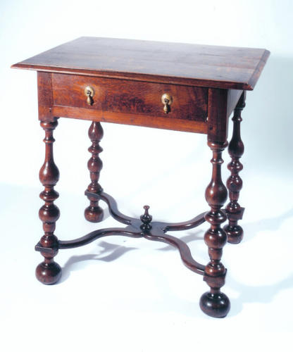 17thc William & Mary Oak Side Table. English C1680 - 90