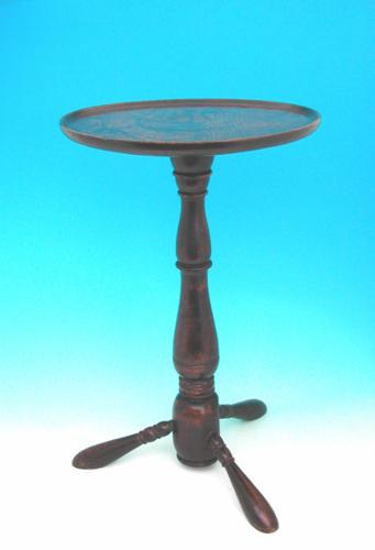18thc Oak Tripod Table .    Welsh.  C1720 to C1740