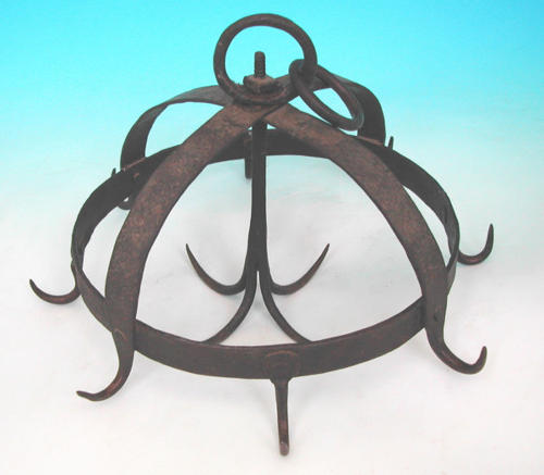 18thc/19thc Iron Game Crown . Continental. C 1780-C1800.