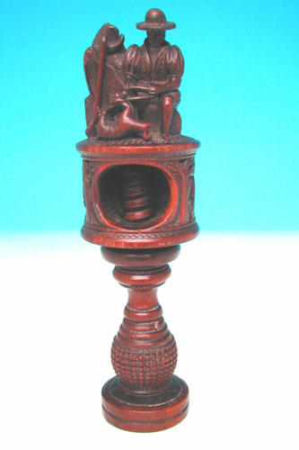 19thc Yew Wood Nutcracker . German. C1830-40