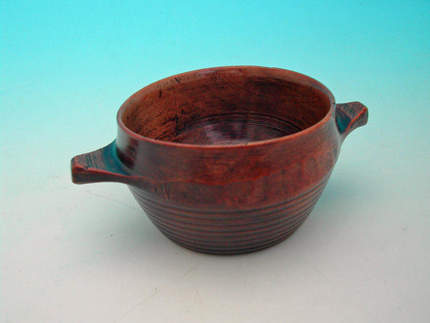 19thc Treen Sycamore Drinking Quaich .  Scottish. C1820-40