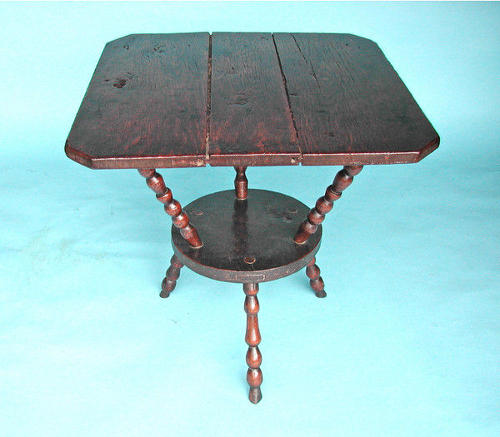 18thc Oak Cornish Cricket Table.  English. C1720-40.