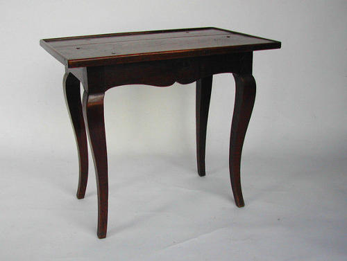 18thc Oak French Table.  French.  C1740-50