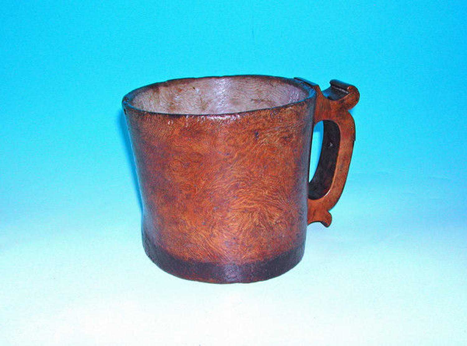 18thc Treen Burr Tankard .  English. C1770-80