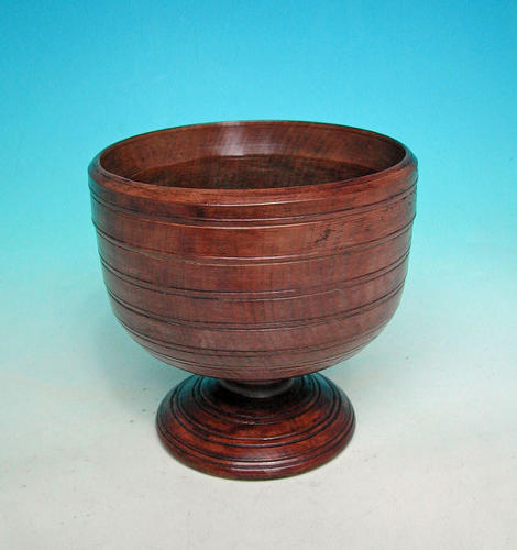 Early Treen 18thc Ash Loving Cup . English. C1700-10