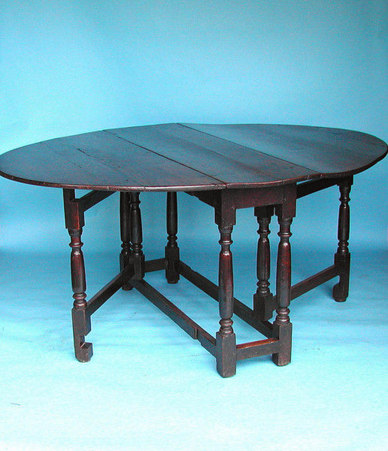 17thc Oak Gateleg Table .   English. C1680-90.