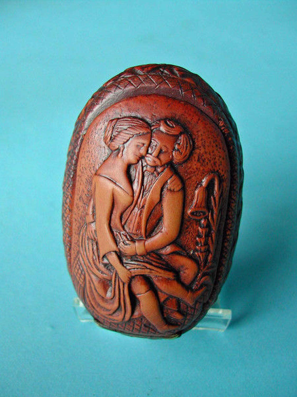 19thc Erotic Snuff Box . English. C1800-20.