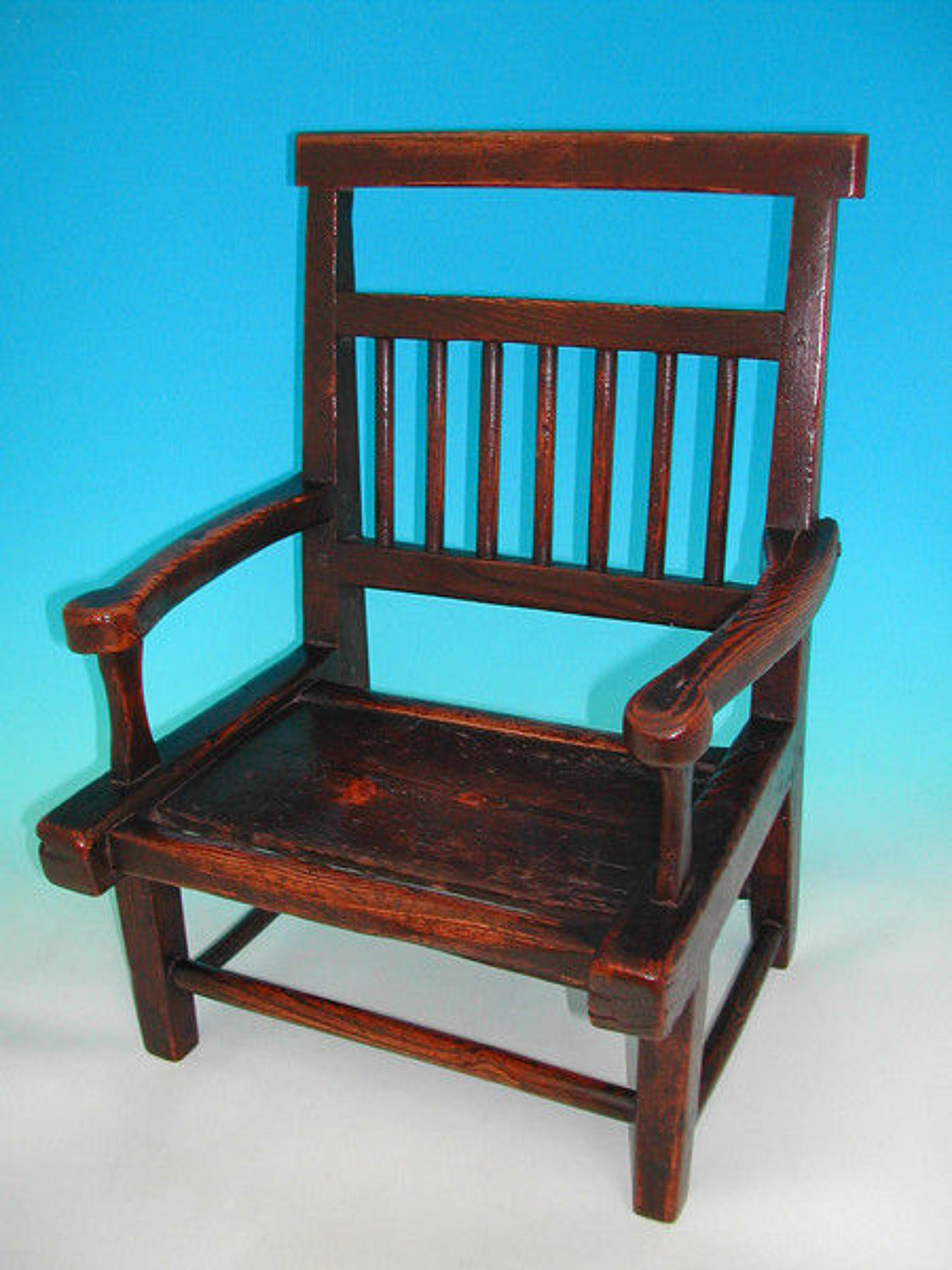 18thc Welsh Primative Childs Chair.  C1780-90
