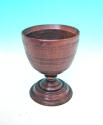 17thc Treen Beech Drinking Goblet .  English. C1690-C1700 - picture 1