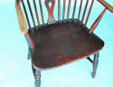 Early 19thc Ash, Elm and Fruitwood High Hoop Back Windsor Chair - picture 4