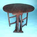 Antique Period 18thc Oak & Elm Gateleg Table. English. C1720-30 - picture 1