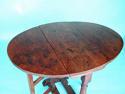 Antique Period 18thc Oak & Elm Gateleg Table. English. C1720-30 - picture 2