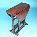 Antique Period 18thc Oak & Elm Gateleg Table. English. C1720-30 - picture 6