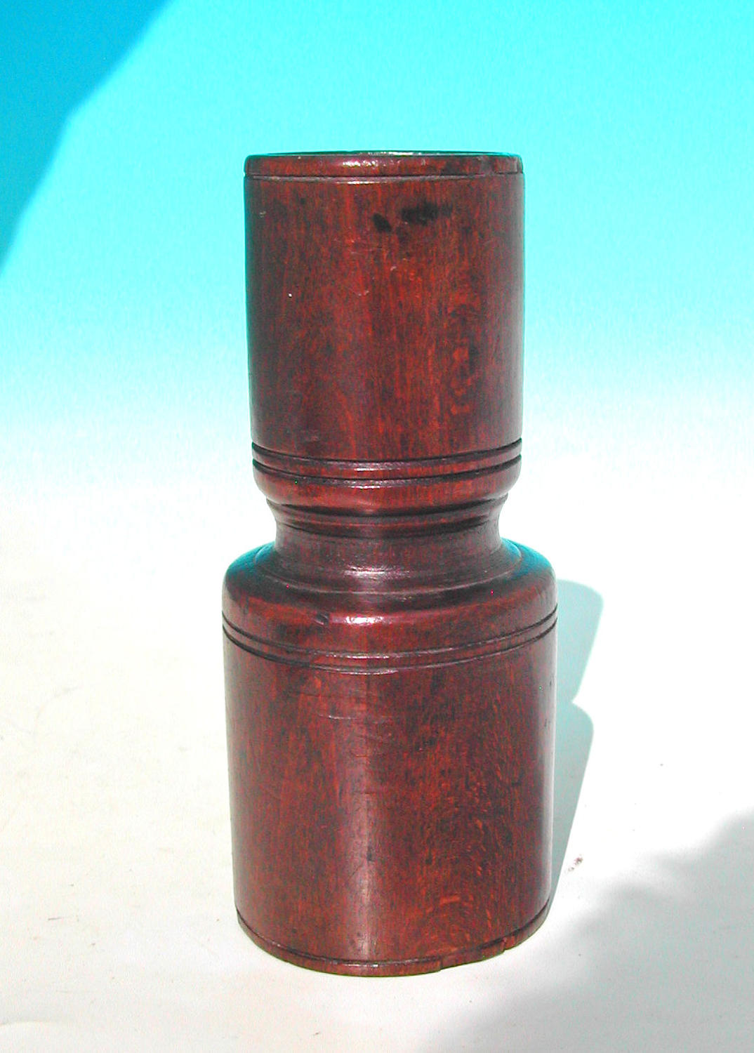 Antique 18thc Treen Beech Spice Measure. English. C1780-90