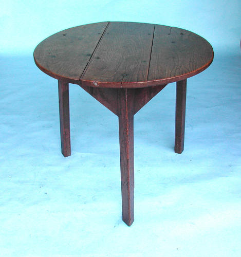 Late 18thc Country Furniture Oak Cricket.. English. C1780-C1800.