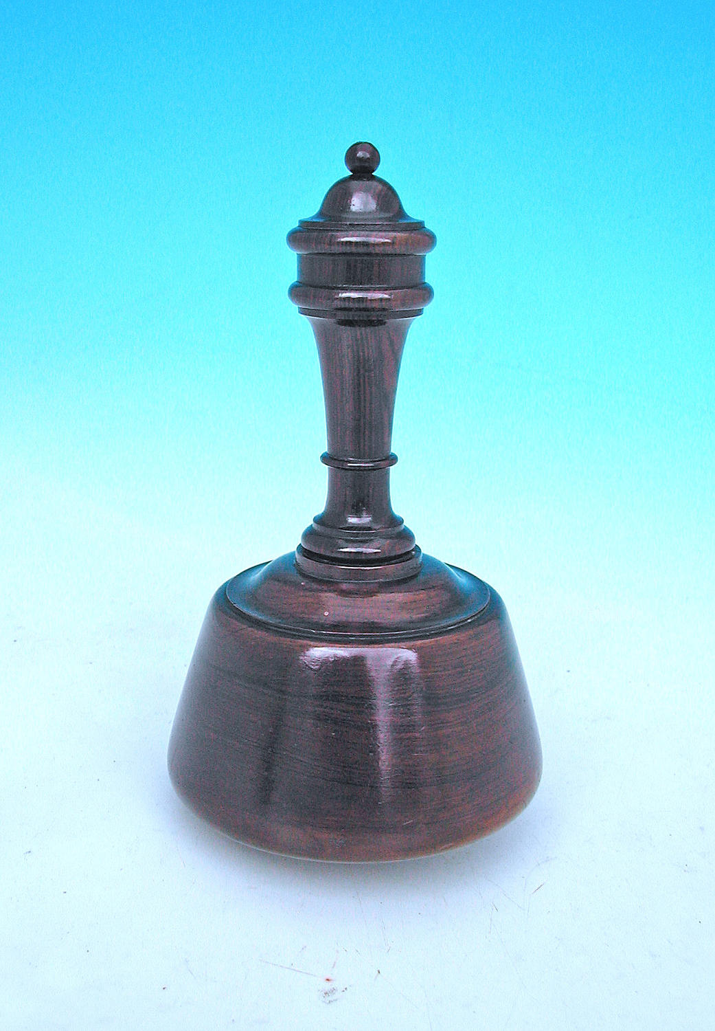 Antique Treen 19thc Rosewood Ceremonial Mallet. English. C1840-60.