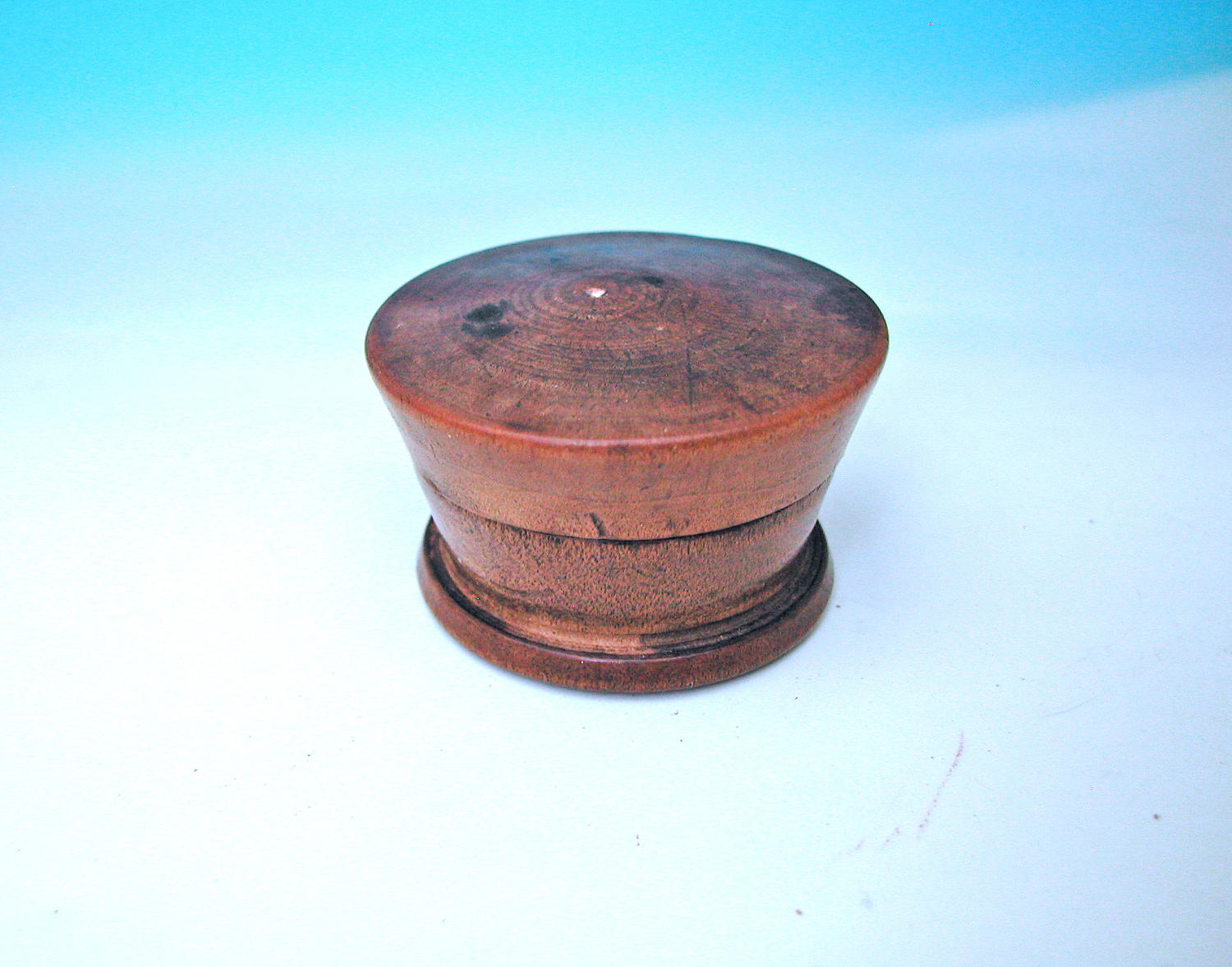 Antique Treen 19thc Sycamore Turned