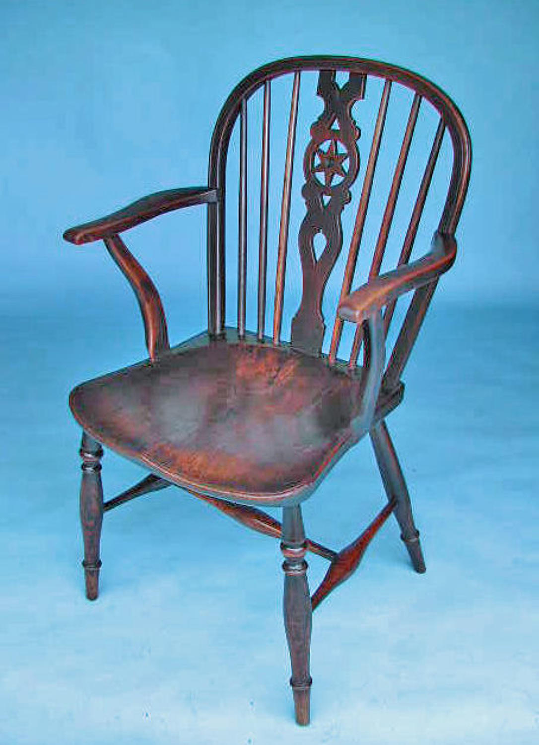 Antique Country Furniture 19thc Windsor