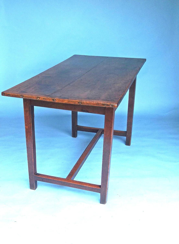 Antique Country Furniture 18thc Small Oak Farmhouse Table. English.
